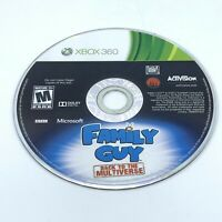 Family Guy: Back to the Multiverse (Microsoft Xbox 360, 2012) Disc Only
