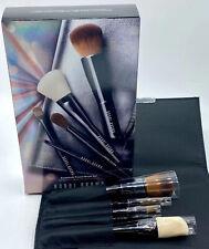 Bobbi Brown 5 Piece Essential Travel Brush Set Travel Kit - Nib Discontinued