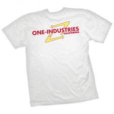 ONE INDUSTRIES MENS T-SHIRT BURGER JOINT CALIFORNIA TEE WHITE adult motocross mx
