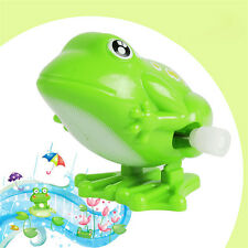 Adorable Lively Jumping Green Frog Wind-Up Clockwork Classic Toys for Baby