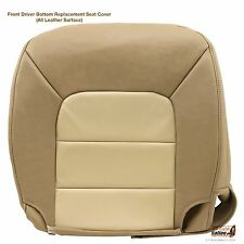 2004 2005 Ford Expedition Eddie Bauer Driver Bottom Leather Seat Cover Tan