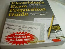 Electrician's Exam Preparation Guide: Based on the 2005 NEC with CD Like New