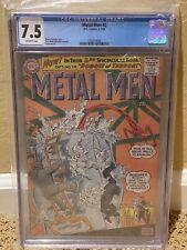 METAL MEN #2 (1963) CGC 7.5 OFF-White Pages Rare Silver Age Key DC Comics