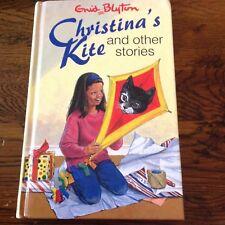 Enid Blyton Christina's  Kit and other stories 1994 Hb in lrg print