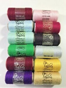 punch embroidrey Pretty Punch acrylic yarn Color #76