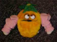 """7"""" Disney Pineapple Plush Toy From Epcot's Kitchen Kabaret From 1982 Rare"""