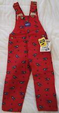NEW OSHKOSH B'GOSH Vestbak Overalls size 4 toddler cotton/polyester