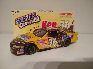 KEN SCHRADER 2001 ACTION #36 M&M's/SNICKERS CRUNCHER BAR PONTIAC 1/24 CWC XRARE!