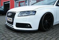 Spoilerschwert Frontspoiler Lippe Cuplippe Frontspoiler ABS für Audi A4 B8 ABE