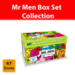 Mr Men My Complete Collection 48 Books Box Set Gift Pack By Roger Hargreaves New