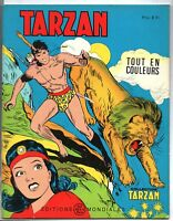 Collection TARZAN n°16 .Editions  Mondiales 1965. HOGARTH. Tout en couleurs
