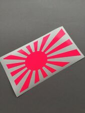 Japan Flagge NEON PINK dapper Auto Aufkleber decal Tuning stickerbomb Turbo