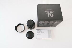 Fuji Fujinon XF 16mm F1.4 Lens Fujifilm - Original Box