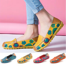 Womens Fashion Casual Boat Shoes Single Moccasins Slip On Ballet Flats Loafers