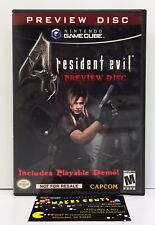 Resident Evil 4 Preview Disc (2005) Capcom Nintendo GameCube CASE ONLY NO DISCS