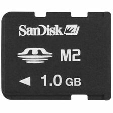SanDisk 1GB Memory Stick Micro M2 MS Pro Duo 1 GB Memory Card New OEM