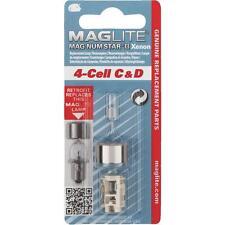 12 Pk Maglite 4 Cell  C/D Xenon Lamp  Replacement Flashlight Bulb LMXA401