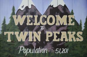 Poster TWIN PEAKS - DAVID LYNCH TELEFILM SERIE TV ANNI 90 HORROR KYLE MACLACHLAN