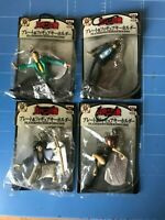 Banpresto,Lupin The 3rd,Plate & Figure Key-holder,All 4 items Complete Set