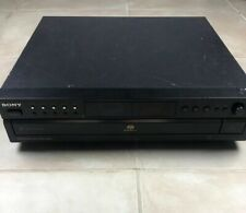 "SONY SCD-CE595 CD SACD 5-Disc ""Super Audio Player"" Changer No Remote Free Ship!"