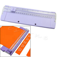 A4 Precision Paper Card Trimmer Ruler Photo Cutter Cutting Blade Office Kit New