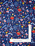 Patriotic Picnic USA Grill Fireworks Blue Cotton Fabric Traditions By The Yard