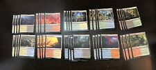 40 Modern Masters 2017 Guildgate Set MTG Dual Land Lot 40x Lot 4 each -NM- MM17
