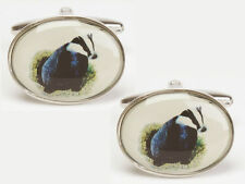 Animals & Insects Oval Cufflinks for Men