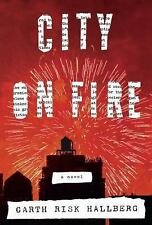 City on Fire by Garth Risk Hallberg NEW (CD, Unabridged) SEALED FREE SHIPPING