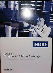 ribbon for Fargo 1250e ID Card Printer Single Side, inks 250 impressions