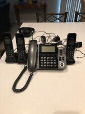 Panasonic Kx-Tgf383M Dect 3-Handset Landline Telephone