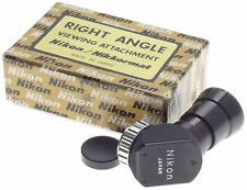 RIGHT ANGLE NIKON VIEWING ATTACHMENT NIKKORMAT SLR VINTAGE FILM CAMERAS BOX MINT