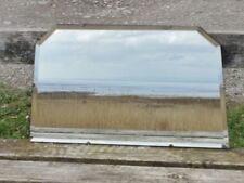 Vintage bevelled edge mirror on chain