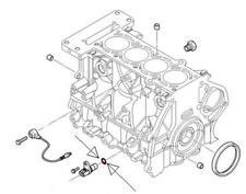 MINI Crankshaft Position Sensor O-Ring R53 R52 R50 2001 - 2007 seal S JCW Cooper
