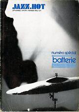 """NUMERO SPECIAL BATTERIE"" JAZZ HOT n° 291 Février 1973"