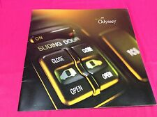 2001 HONDA ODYSSEY SALES BROCHURE BY HONDA MOTOR COMPANY (Y273)