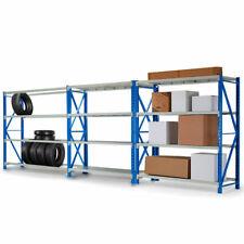 Baumr-AG STRRAKBMRA153 1.5x2m 2000kg Steel Storage Shelves - 3 Pieces