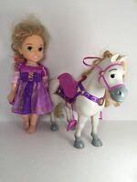 "My First Disney Princess Rapunzel Doll & Maximus Horse, Tangled, Toddler 16"""