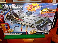 2011 Avengers S.H.I.E.L.D. Hellicarrier 2-in-1 Vehicle and Play set by Hasbro