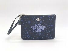 Star Wars Wrislet Pouch MAY THE FORCE BE WITH YOU PURSE Black Limited Edition