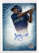 GABBY GUERRERO MLB 2015 BOWMAN INCEPTION ROOKIE AUTOGRAPHS (MARINERS,REDS)