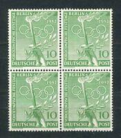 Luxus Berlin Mi-Nr. 89 als Viererblock / 4er Block ** postfrisch - Mi. 48,-