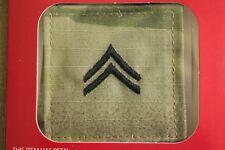 Us Army Gi Multicam Ocp E-4 Cpl Hook Back Camouflage Camo Uniform Rank Patch