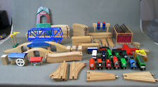 Lot of 90 Pieces Thomas and Friends Trains and Track Toys