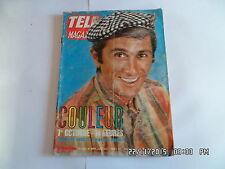 TELE MAGAZINE N°623 30/09/1967 MARCEL AMONT     I69