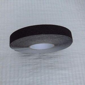 Anti slip self adhesive coarse grit tape, 1 inch wide, 60 foot roll (18.28m)