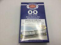 Parkside PC576 OO Gauge LMS Traffic Coal/4 Plank Wagon Kit