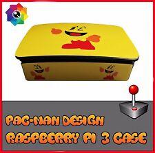 raspberry pi 3 case retro style spiele pac-man (use with retropie oder kodi)