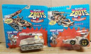 MICRO MACHINES ZBOTS MILITARY COMBOTS VINTAGE SETS WITH FIGURES AND VEHICLES NEW