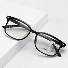 Unisex Progressive Multifocal Reading Glasses Anti Blue Light Lens +1.00~+3.50